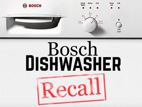 Bosch Dishwasher Recall 2015