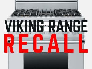 Viking Range Recall 2016