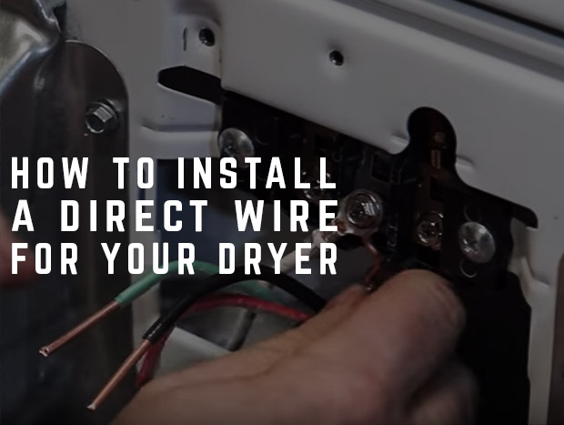 How To Install A 4 Wire Direct For Your Dryer
