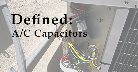 What is an ac capacitor
