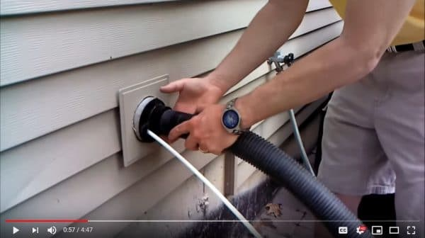 how to clean dryer vent
